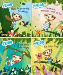 Nelson Mini-Bücher: Frido Faultier 1-4 (24 Expl. (4 Titel))
