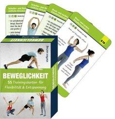 Trainingskarten Beweglichkeit