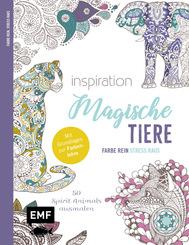 Inspiration Magische Tiere - 50 Spirit Animals ausmalen