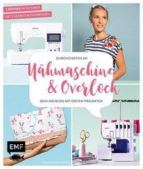 Durchstarten an Nähmaschine & Overlock, 2 Bände