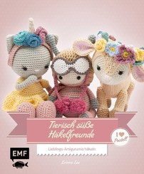 Tierisch süße Häkelfreunde - I love Pastell