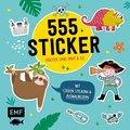 555 Sticker - Faultier, Dino, Pirat und Co.