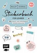 Bullet Journal - Stickerbuch für Lehrer