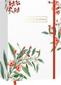 "Pocket Bullet Journal ""Red Flowers"""