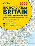Collins Big Road Atlas Britain 2020