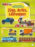 Züge, Autos und Lastwagen