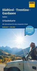 ADAC Urlaubskarte I Südtirol, Trentino, Gardasee 1:200 000