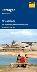 ADAC Urlaubskarte F Bretagne 1:200 000