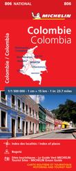 Michelin Karte Kolombien