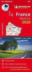 Michelin Karte Nordostfrankreich