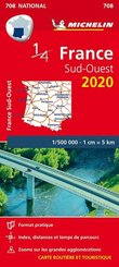 Michelin Karte Südwestfrankreich