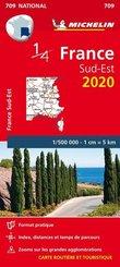 Michelin Karte Südostfrankreich