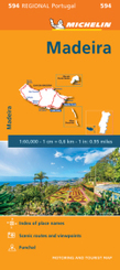 Michelin Karte Madeira