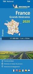 Michelin Frankreich Fernrouten 2020