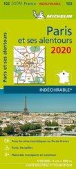 Michelin Karte Paris et ses alentours 2020