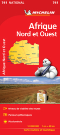 Michelin Karte Nordwest-Afrika
