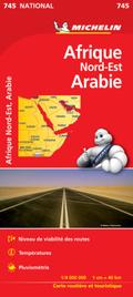 Michelin Karte Nordost-Afrika, Arabien