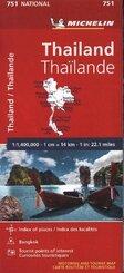 Michelin Karte Thailand
