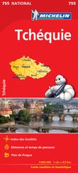Michelin Karte Tschechische Republik