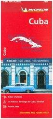 Michelin Karte Kuba / Cuba