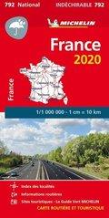 Michelin Karte Frankreich 2020 (widerstandsfähig)