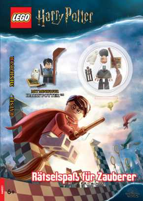 LEGO® Harry Potter - Rätselspaß für Zauberer, m. Minifigur Harry Potter (TM)