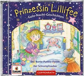 Prinzessin Lillifee - Gute-Nacht-Geschichten, Audio-CD