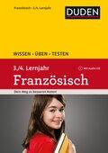 Wissen - Üben - Testen: Französisch 3./4. Lernjahr, m. Audio-CD