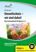 Umweltschutz - wir sind dabei!, m. CD-ROM