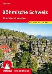 Rother Wanderführer Böhmische Schweiz und Böhmisches Mittelgebirge