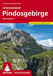 Rother Wanderführer Griechenland - Pindosgebirge