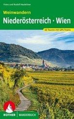 Rother Wanderbuch Weinwandern Niederösterreich - Wien