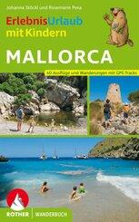 Rother Wanderbuch ErlebnisUrlaub mit Kindern Mallorca