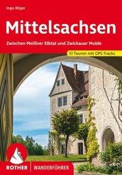 Rother Wanderführer Mittelsachsen