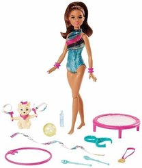 "Barbie ""Traumvilla Abenteuer"" Turnerin Teresa Puppe"