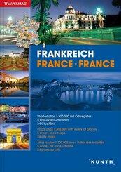 Reiseatlas Frankreich