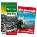 Wienerwald Wanderungen-Set, Wanderführer + Wanderkarte 1:50.000, in praktischer Umhängetasche