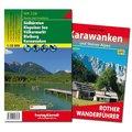 Karawanken Wanderungen-Set, Wanderführer + Wanderkarte 1:50.000, in praktischer Umhängetasche