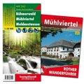 Mühlviertel Wanderungen-Set, Wanderführer + Wanderkarte 1:50.000, in praktischer Umhängetasche