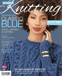 Designer Knitting: Trendfarbe 2020: CLASSIC BLUE