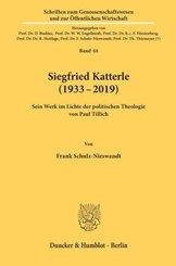 Siegfried Katterle (1933-2019).