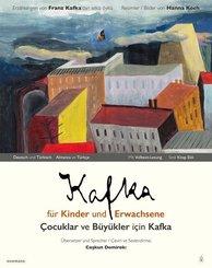 Kafka f?r Kinder und Erwachsene / ?ocuklar ve B?y?kler i?in Kafka, m. Audio-CD