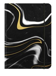BLACK MARBLE Blankbook