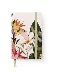 Floral GreenLine Journal - Punktraster und blanko