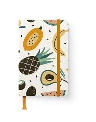 Happy Fruits GreenLine Journal - Punktraster und blanko