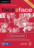 face2face, Second edition: Elementary - Classware, DVD-ROM