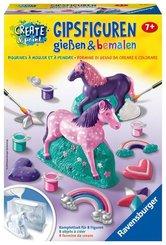 Gipsfiguren gießen & bemalen - Fantasy Horse
