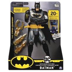 BAT Batman - 30 cm-Figur mit Waffengürtel