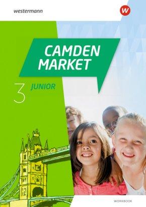Camden Market Junior - Ausgabe 2020: 3. Klasse, Workbook mit Audio-CD