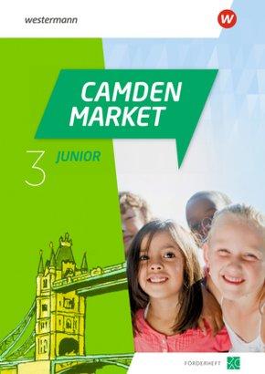 Camden Market Junior - Ausgabe 2020: 3. Klasse, Förderheft